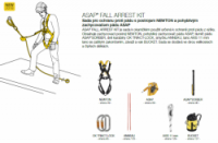 Petzl Asap fall arrest kit